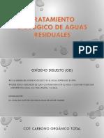 Tratamiento Biológico de Aguas Residuales de Procedencia Doméstica