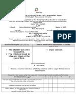 mst observation report -2