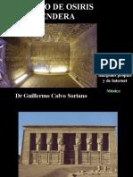 El Templo de OSIRIS en Dendera - Imágenes