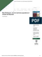 05-01-2016 Neto Robinson, Recorre Sectores Populares Al Oriente de Reynosa