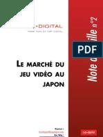 Le marché du jeu vidéo au Japon - note de Veille Think Digital n°2