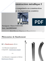 Cours de Construction Metallique I II. E