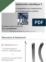 Cours de Construction Metallique I II. E