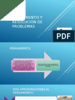 Pensamiento y Resolución de Problemas