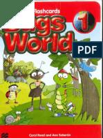 Bugs World 1 Flashcards