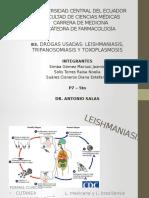 83. Drogas Usadas Leishmaniasis, Tripanosomiasis y Toxoplasmosis