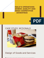McDonald's Operations Management, quality and business competitive.pptx