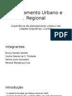Planejamento Urbano e Regional - Curitiba