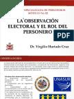 PPT_La Observación Electoral y El Rol Del Personero