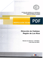 Informe puente Río Bueno
