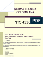 NORMA TECNICA COLOMBIANA 4116.ppt