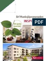 Inspiration Riksbyggen Brf Munksjöpromenaden