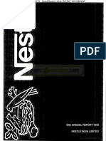 Nestle India Ltd Annual Report 1998