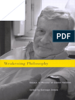 Zabala, Santiago-Weakening Philosophy _ Essays in Honour of Gianni Vattimo-McGill-Queen's University Press (2007)