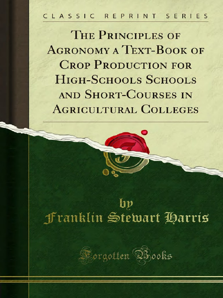 The_Principles_of_Agronomy_a_Text-Book_of_Crop_Production_for_1000074322.pdf  | Crop Rotation | Soil