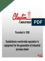 Clayton Trumpas Pristatymas