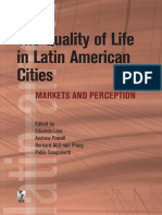 The Quality of Life in Latin American Cities
