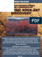 Neolithic Rock Art Discovery in Sardinia