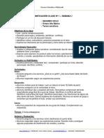 Planificacion Lenguaje 8b Semana 2 2014