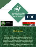 Modelo Hidalgo de Atención en Salud Mental