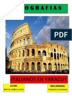Libro Italiano. Yaracuy.