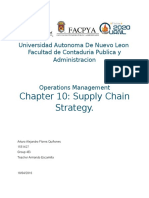 Chapter 10 Operations and Supply Chain Managemet