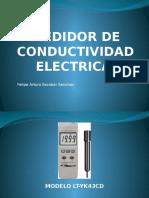 Medidor de Conductividad Electrica