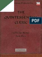 The Quintessential Cleric