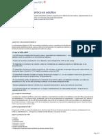 Cetoacidosis Diabetica en Adultos