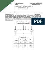 Estructuras II (Arquitectura)