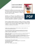 Gato Mancha Naranja_punteo Ideas