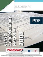 Censo Agropecuario 2008 Vol 6