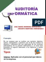 6.2 Auditoria Informática