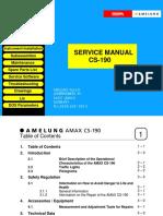 Amax 200 Service Manual