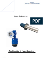 MeasurIT KTek Laser References 0911