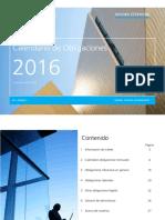 2016 Calendario de Obligaciones Digital