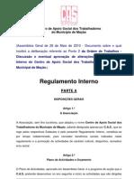 Proposta Regulamento Final