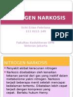 Nitrogen Narkosis - UchiEF