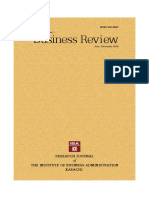 Business Review (Vol.1 No.1)