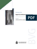 Rapport du vérificateur général - La Réserve de l'Armée canadienne