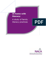 At Home With Literacy - A Research Study of Family Literacy Practices 2010