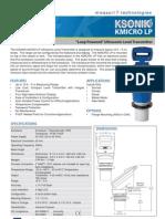 Measurit Ktek Ksonik Micro Lp 0910