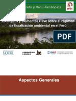 Conceptos y Elementos Clave Sobre El Régimen Común de Fiscalización Ambiental en el Peru