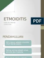 ETMOIDITIS