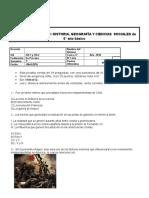 CLASE 7 - 6° BASICO - UNIDAD 1 - PRUEBA DE CONTENIDOS (EVALUACION N° 1)