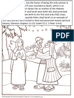 Bible Mothers Coloring Pages