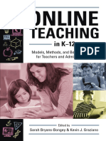 Online Teaching in K-12 Sample Chapter
