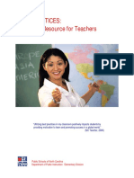best practice  teachers resources