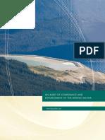 Auditor General Mining Enforcement & Compliance report