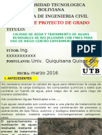 Taller de Grado UTB - Cota